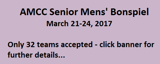 AMCC Senior Mens' Bonspiel - Click for Details