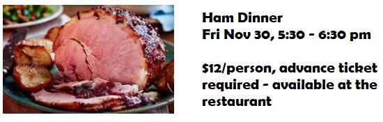 AMCC Ham Dinner
