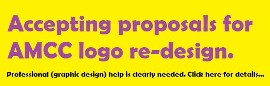AMCC logo re-design request for proposals...