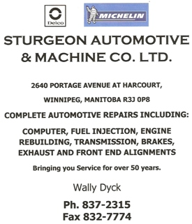 sturgeon automotive